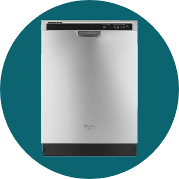 Whirlpool Dishwasher with Sensor Cycle